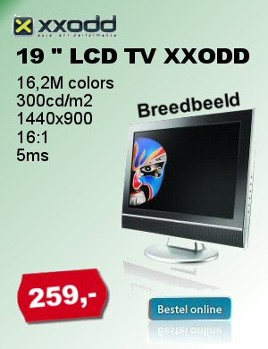 XXODD 19 inch LCD TV